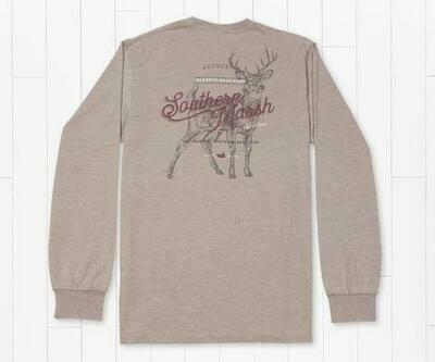 Southern Marsh Men's Seawash Deer Tee