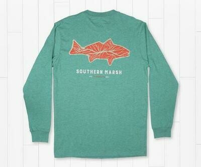 Southern Marsh Men's Delta Fish Tee