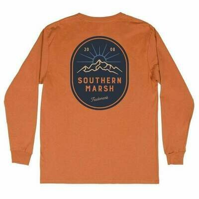Southern Marsh Men's Branding Mountain Rise Tee