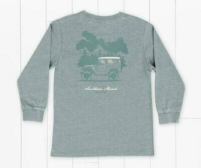 Southern Marsh Kid's Seawash Off Road Tee