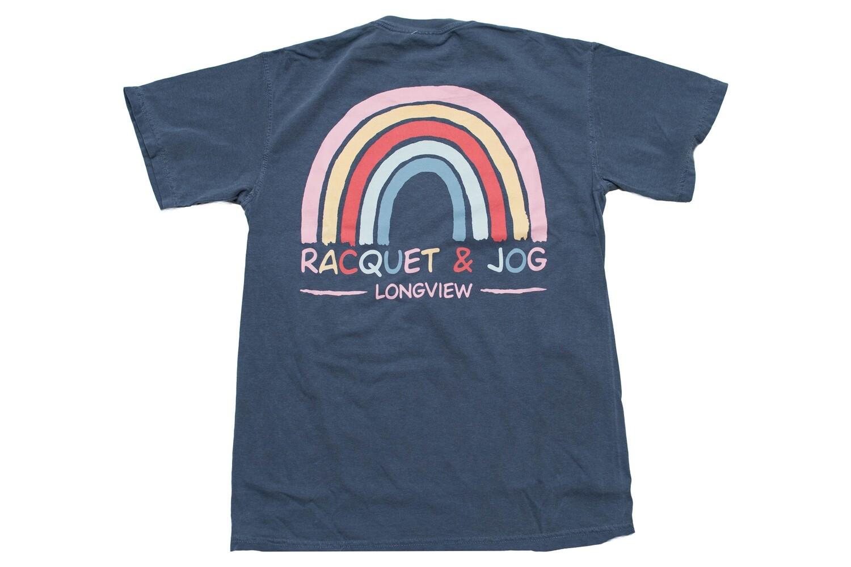 Racquet & Jog Specialty Rainbow Tee