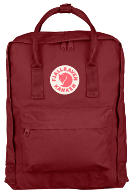 Fjallraven KÅNKEN Backpack- Ox Red