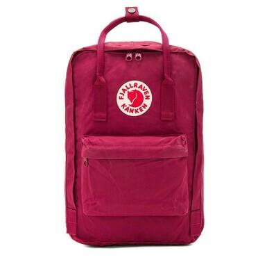"Fjallraven KÅNKEN Laptop 15"" Backpack- Plum"