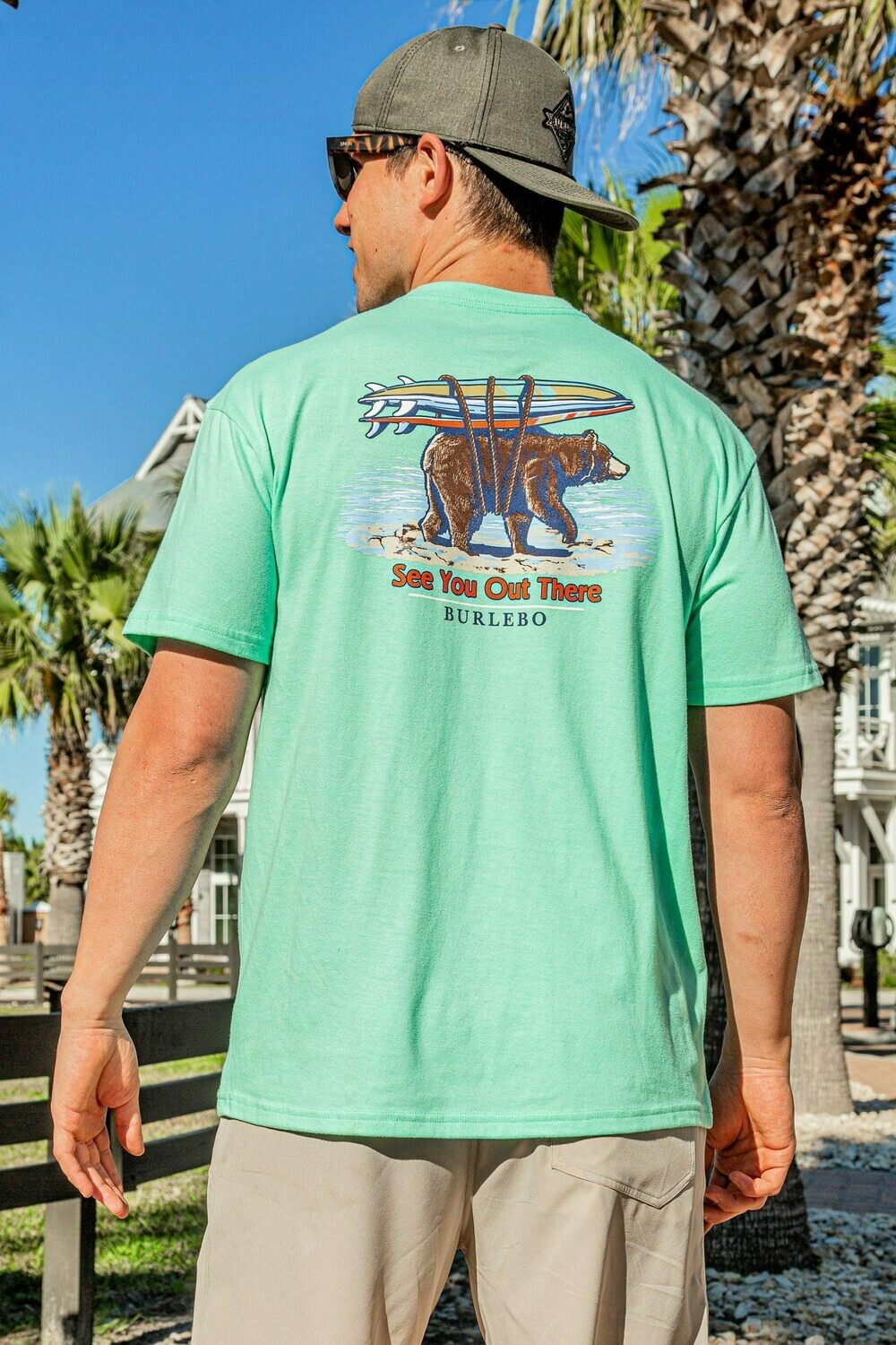 Burlebo Men's See You Out There Tee