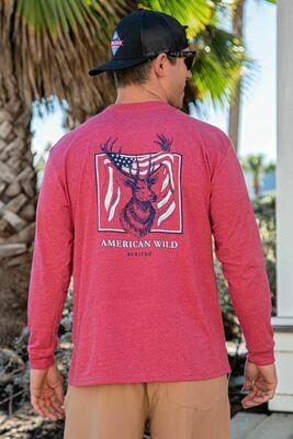 Burlebo Men's Long Sleeve American Wild