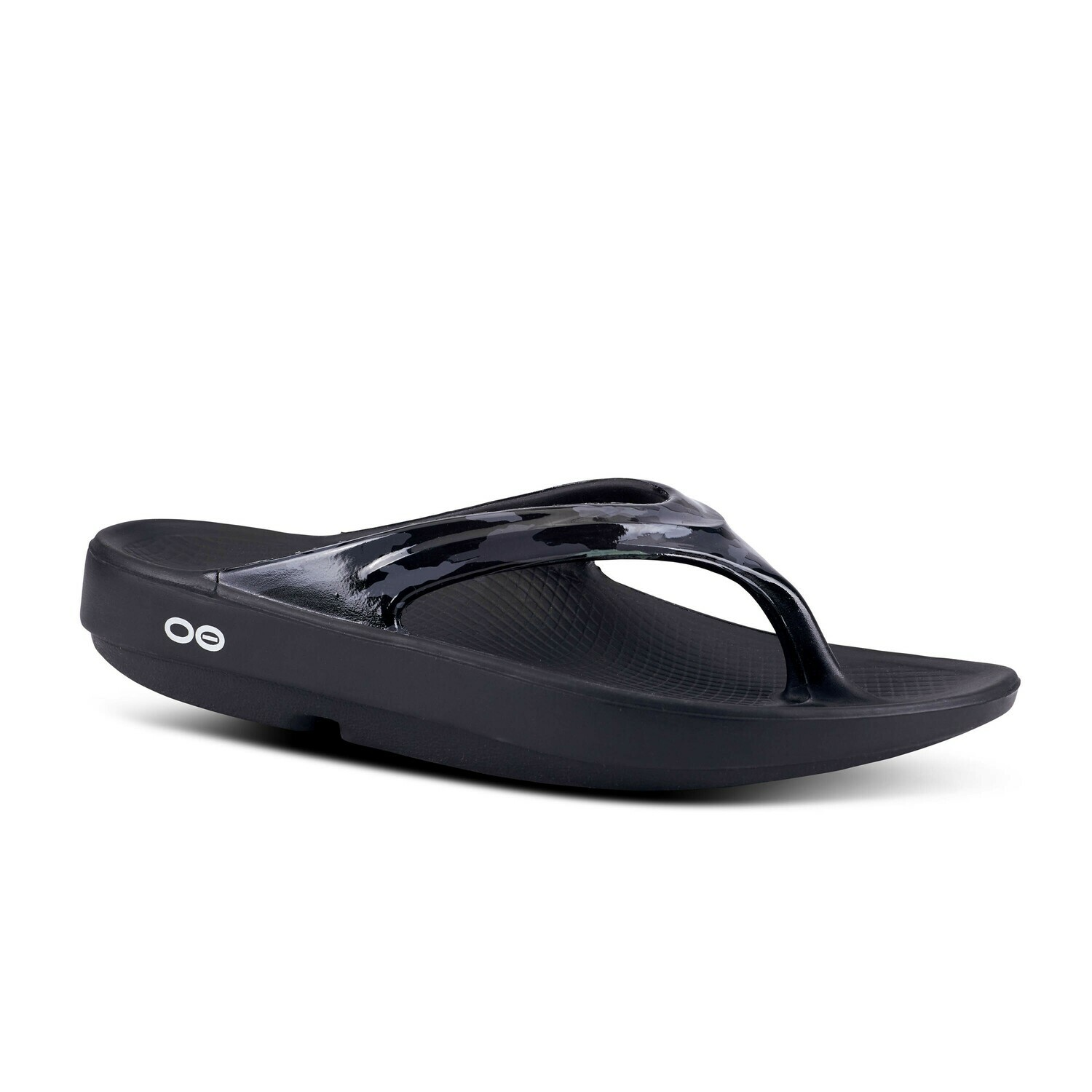 Oofos OOlala Thong Limited Edition- Black Camo