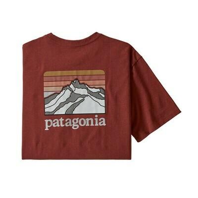Patagonia Men's Line Logo Ridge Pocket Responsibili Tee