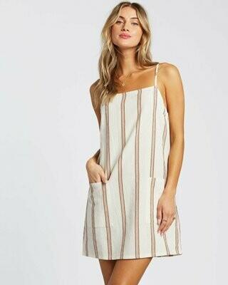 Billabong Women's Straight Round Mini Dress