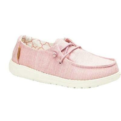 Hey Dude Women's Wendy Linen - Pink