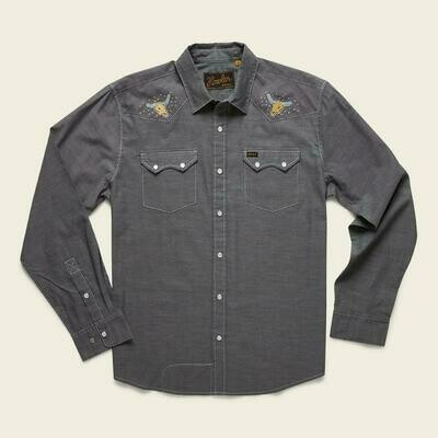 Howler Brothers Men's Crosscut Deluxe Snap Button Down