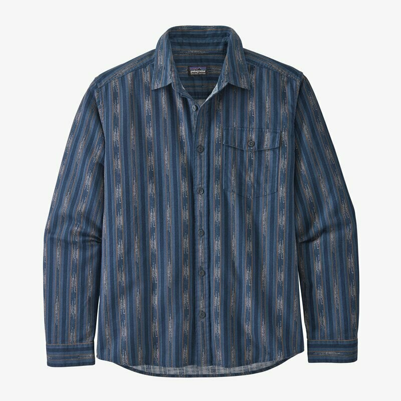 Patagonia Men's Long Sleeve Lightweight Fjord Flannel