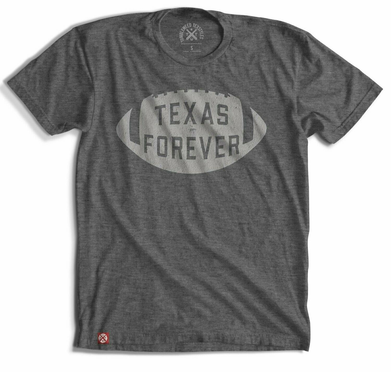 Tumbleweed Texstyles Texas Forever Football Tee
