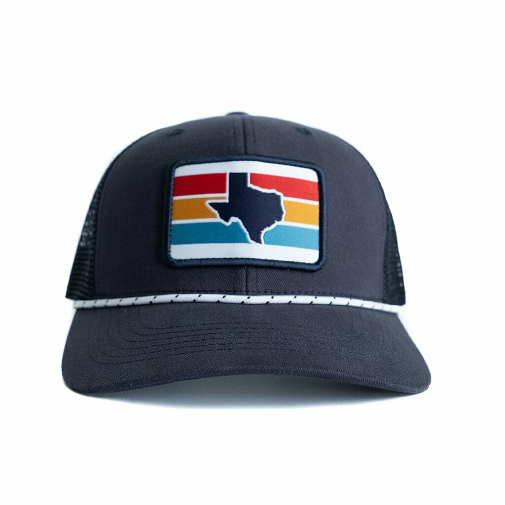 Tumbleweed Texstyles Texas Stripe Trucker Hat