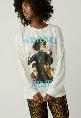 Daydreamer Women's Long Sleeve Whitney Houston Dance With Somebody Tee