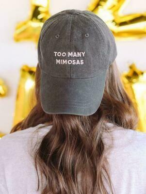 Friday + Saturday Too Many Mimosas Hat