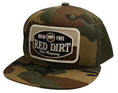 Red Dirt Hat Co Youth Roam Free Hat