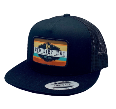 Red Dirt Hat Co Army Sunset Hat