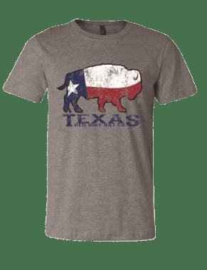 Red Dirt Hat Co Texas Buffalo Tee