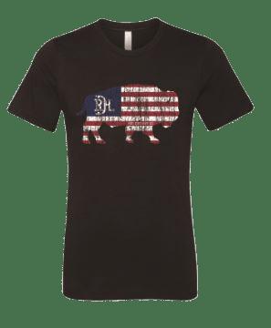 Red Dirt Hat Co USA Buffalo Tee