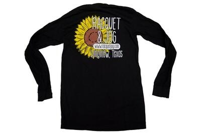 Racquet & Jog Long Sleeve Specialty Sunflower Tee