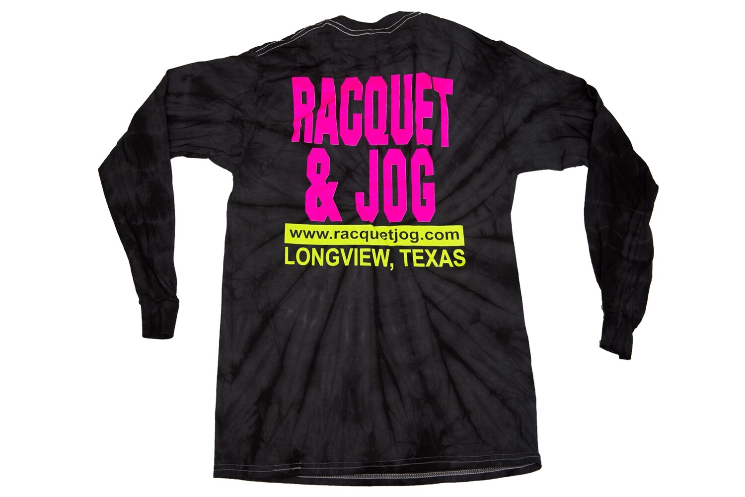 Racquet & Jog Long Sleeve Old School Fashion Tie Dye Tee