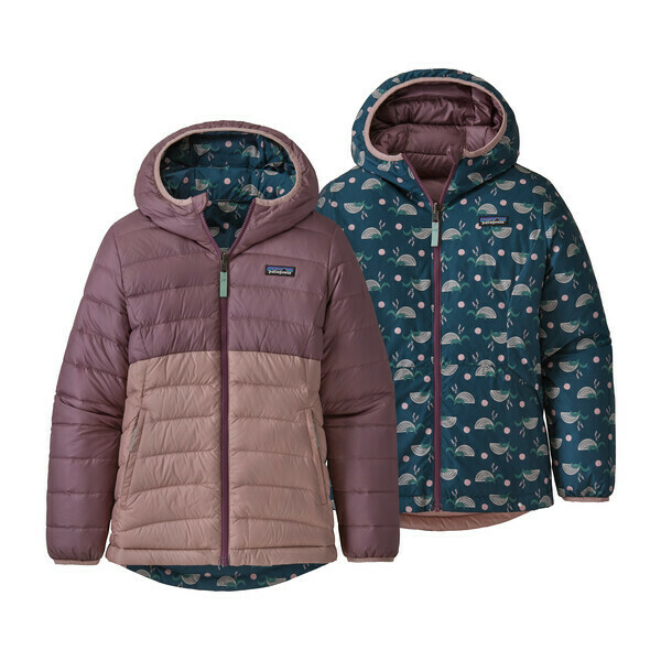 Patagonia Girls Reversible Down Sweater Hoody