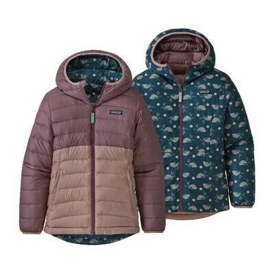 Patagonia Girls Reversible Down Sweater Hoody