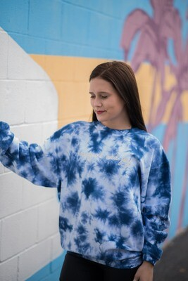 B-Unlimited R&J Tie Dye Corded Crew