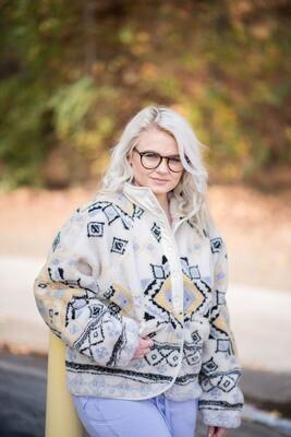 Free People Women's Rocky Ridge Fleece Jacket