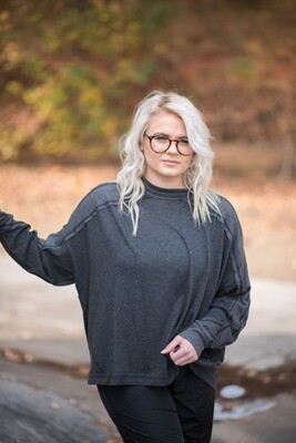 Free People Long Sleeve All About It Top