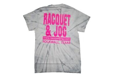 Racquet & Jog Old School Tie Dye Tee