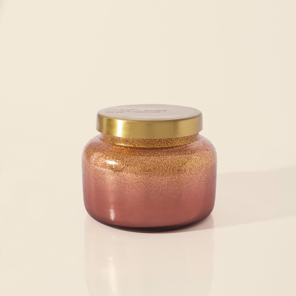 Capri Blue 19 oz Glitz Signature Jar Candle- Tinsel and Spice