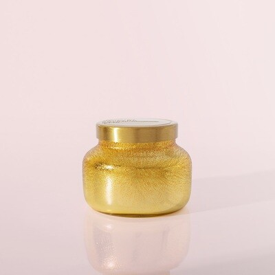 Capri Blue 8 oz Glitz Petite Jar Candle- Volcano