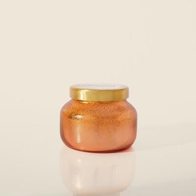 Capri Blue 8 oz Glitz Petite Jar Candle- Pumpkin Dulce