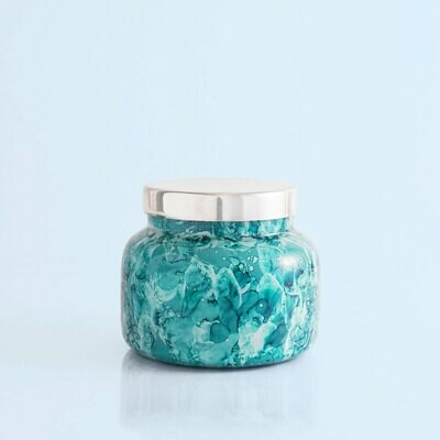 Capri Blue 19 oz Watercolor Signature Jar Candle- Volcano