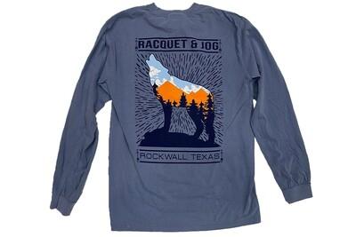 Racquet & Jog Long Sleeve Specialty Lobo Tee