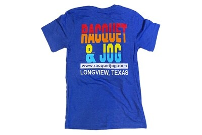 Racquet & Jog Old School Stripes Jersey Tee
