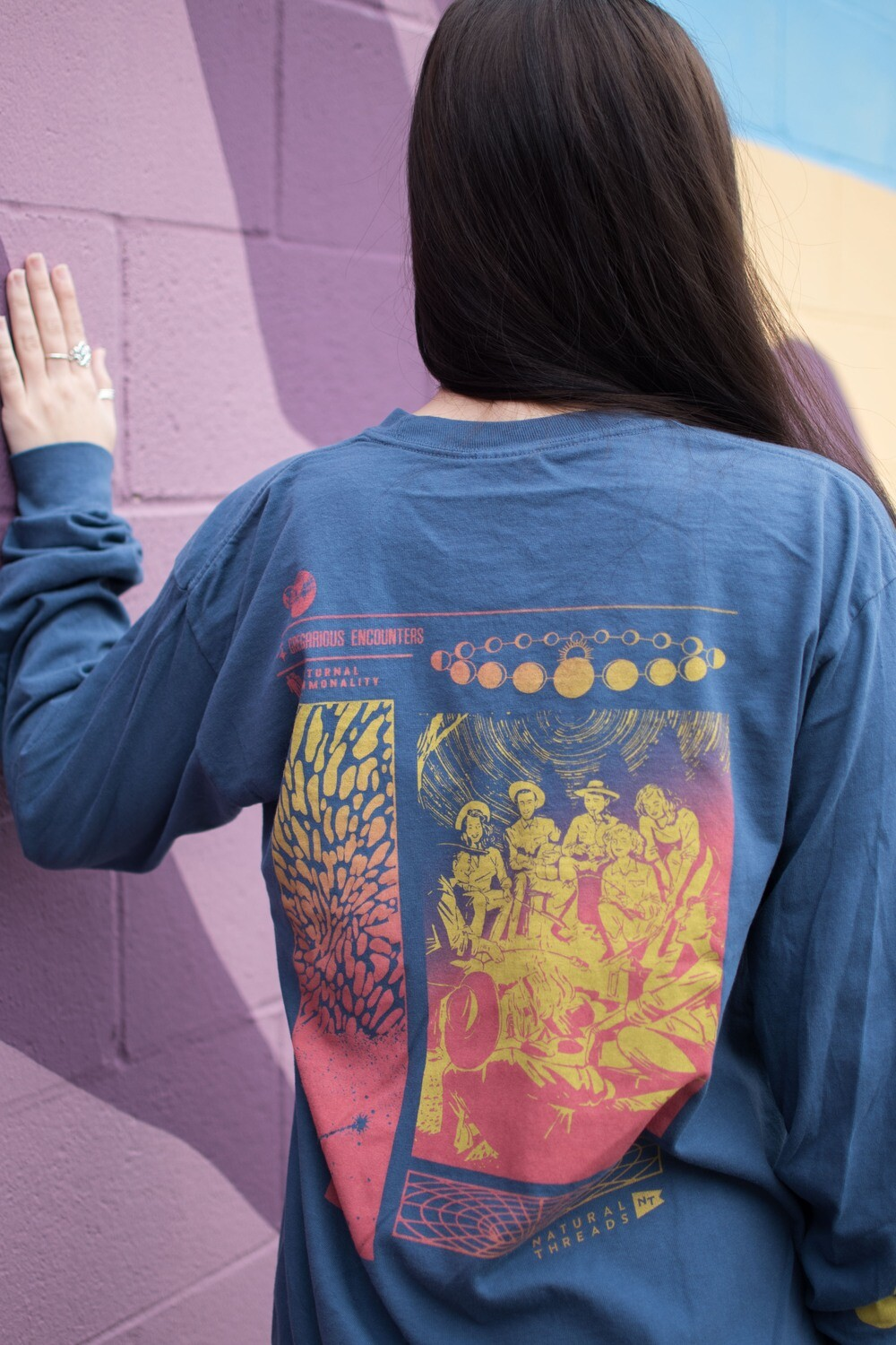 B-Unlimited Long Sleeve Noctural Encounters Tee