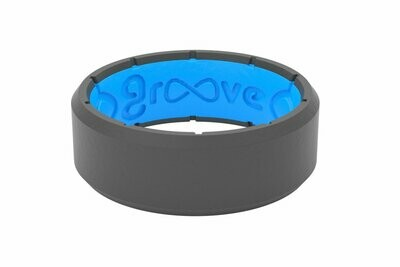 Groove Ring Edge Deep Stone Grey