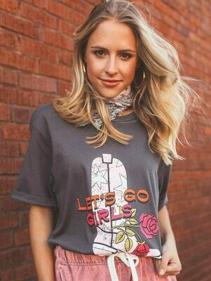 Charlie Southern Short Sleeve Let's Go Girls Tee