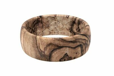 Groove Ring Nomad Burled Walnut