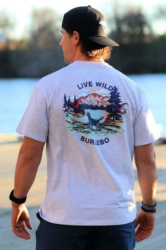 Burlebo Men's Live Wild Tee
