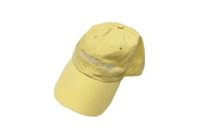 Racquet and Jog Statement Hat -  Yellow