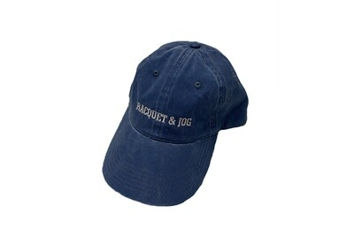 Racquet and Jog Statement Hat -  Navy