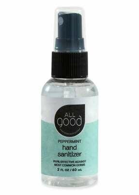 All Good Peppermint Hand Sanitizer Spray