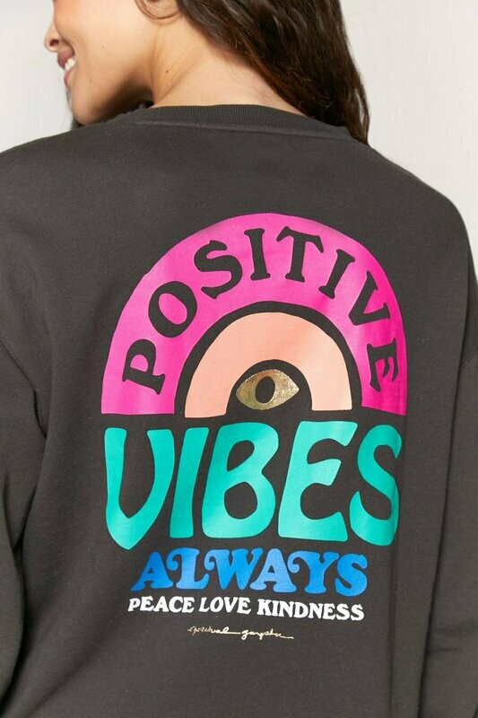Spiritual Gangster Women's Vibes Mazzy Pullover