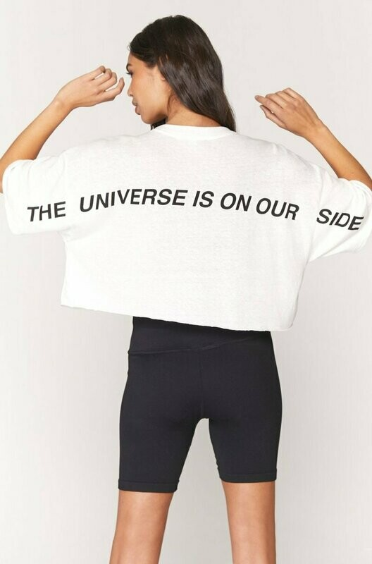 Spiritual Gangster Women's Universe Solstice Cropped Tee