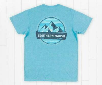 Southern Marsh Men's Branding Collection Tee- Summit