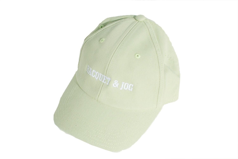 Racquet and Jog Statement Hat - Honeydew