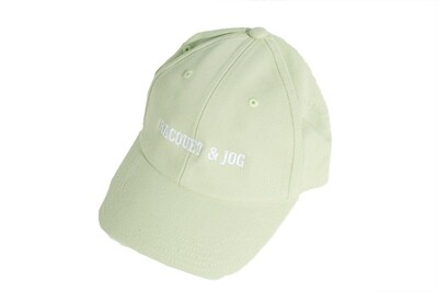 Racquet and Jog Statement Hat - Honeydew
